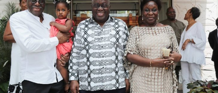 Akufo-Addo's brother and sister