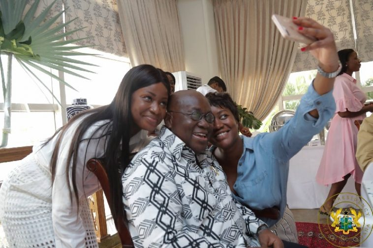 Akufo-Addo's Daughters, Gyankroma and Nana Dokua