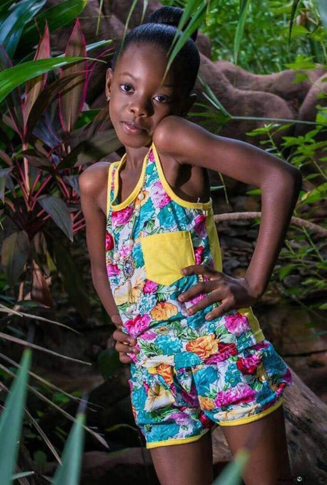 a photo of shatta wale's daughter cherisa, who celebrated her birthday on July 1
